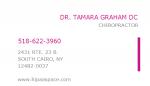 Dr. Tamara Graham, DC